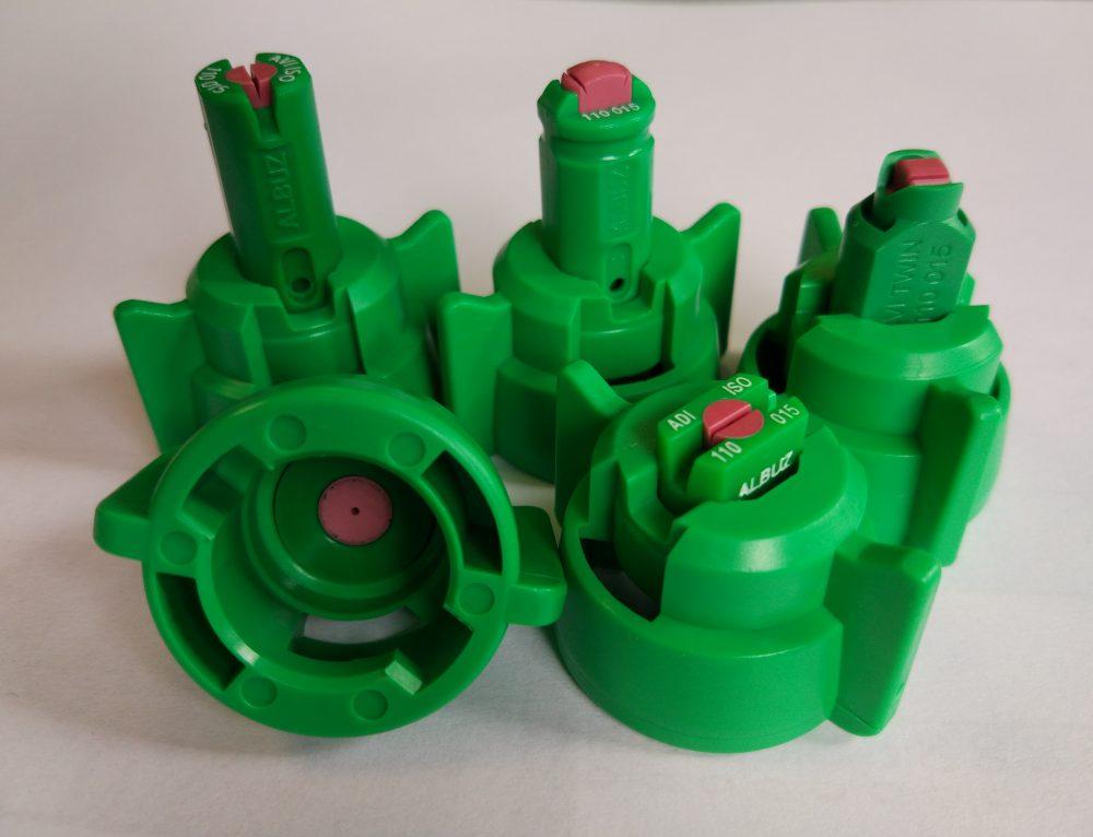 Nowe kołpaki ARAG zielone