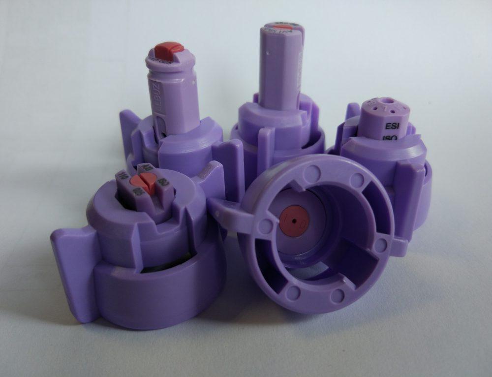 Nowe kołpaki ARAG fioletowe